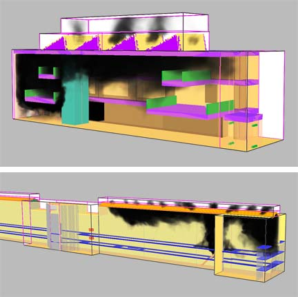 Services - Computer modelling - smoke modelling